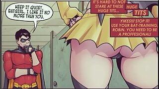 batgirl loves robin