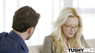 TUSHY – First Anal For Blonde Babe Samantha Rone