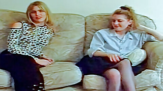 Clasic Ben Dover Cumming of Age: Lisa Thoy and Nicky Berry