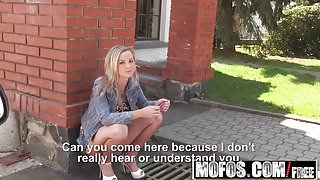 Mofos – Stranded Teens – Vinna Reed – Pretty Blonde Takes Di
