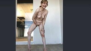Public Paulina Naked + Cumming on the 17th Floor